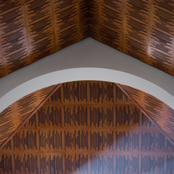 wavewood ceiling panel